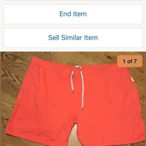 Other - NEW ONIA DRAWSTRING CASUAL COTTON BLEND SHORTS XXL